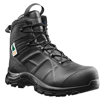 90b421e8afb Haix Black Eagle Safety 55 Mid Side-Zip Boot