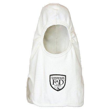 Fire-Dex H81 Classic Knit Hood, Notch Shoulder, White