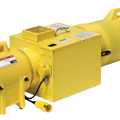 Euramco Ramfan UB20 In-Line Confined Space Heater System