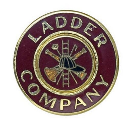 Gold Ladder Company Collar Insignia Pin