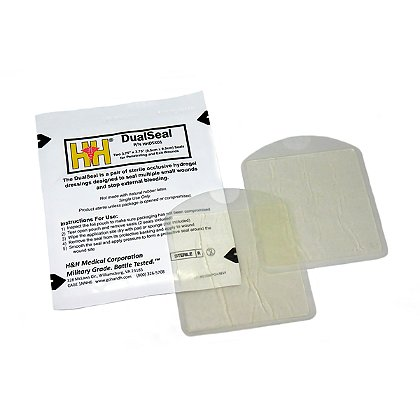 H&H Medical DualSeal, Two 3.75