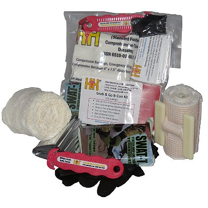 H&H Medical Grab 'N Go Bleeding Control Kit