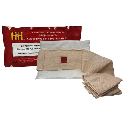 H&H Emergency Compression Dressing