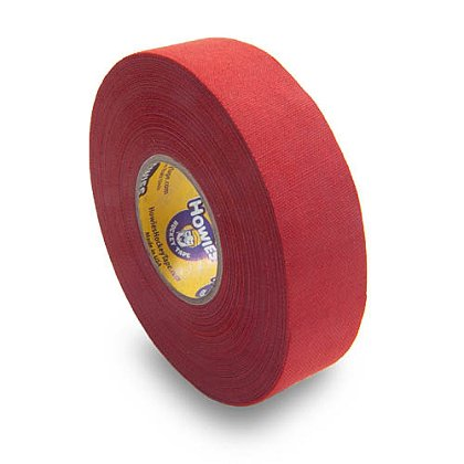 Howies Premium Red Cloth Hockey Tape, 1