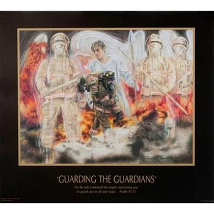 Guarding the Guardians Art Print by Frank Smardo