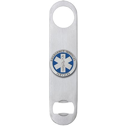 Heritage Pewter EMS Bottle Opener