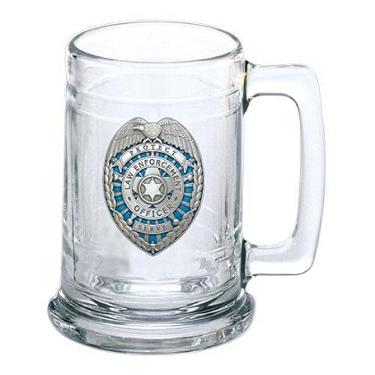 Heritage Pewter Law Enforcement Stein