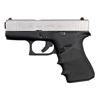 Hogue HandAll Beavertail Grip Sleeve for Glock 43X, 48