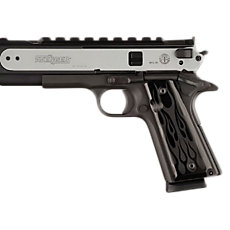Hogue 1911 Style Government Model, Aluminum Panels , Black
