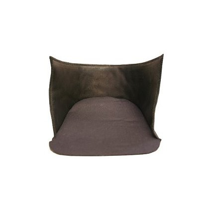 Honeywell Morning Pride Comfort Cap Headband and Ratchet Cover, Choose Black Leather or Black Indura Cotton