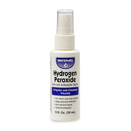 WaterJel Hydrogen Peroxide Spray, 2oz bottle
