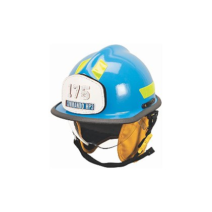 Cairns 2016 Blue HP3 Commando with Defender Visor, NFPA