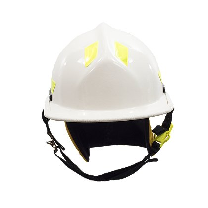 Cairns 2016 White HP3 Commando with Defender Visor, NFPA