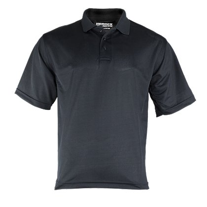 Exclusive Heroes Apparel 100% Polyester Short-Sleeve Polo