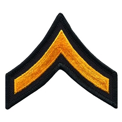 Hero's Pride PFC Chevron