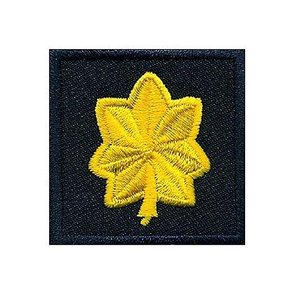 Hero's Pride Embroidered Major Oakleaf Patch, 1-1/2