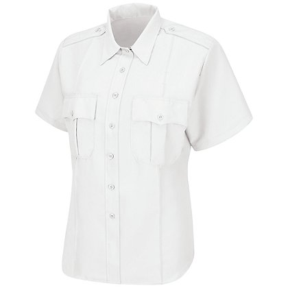 Horace Small Women's Sentry Short Sleeve Shirt w/ Zipper Front