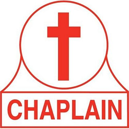 Chaplain Rank Decal