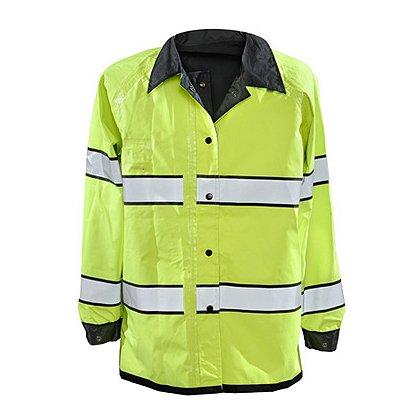 Gerber Outerwear Pro Dry Duty Rain Jacket, ANSI 1072010 Class 3