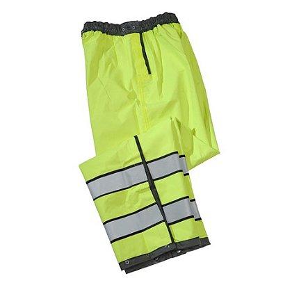 Gerber Outerwear Pro Dry Duty Rain Pants, ANSI 107 2010 Class E