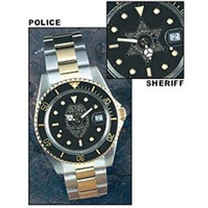 Sheriff Diver's Style Watch