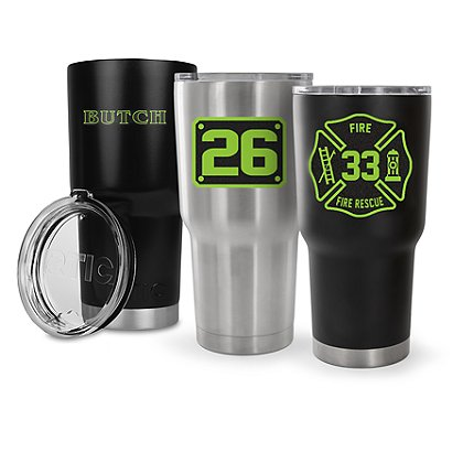 Identifire: Custom RTIC 30oz Tumbler, Stainless Steel (Not Returnable)