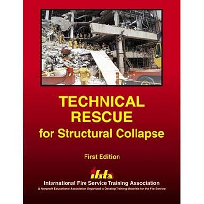 IFSTA Technical Rescue for Structure Collapse Book, 1st Edition