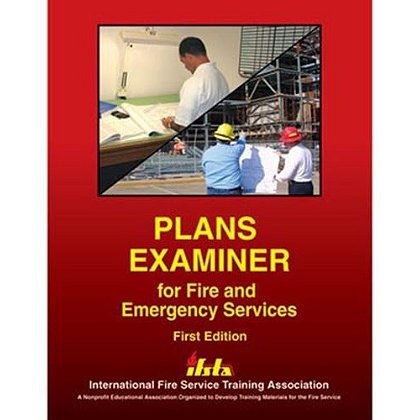IFSTA Plans Examiner For Fire And Emergency Services Book, 1st Edition