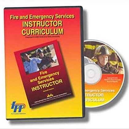 IFSTA Fire & Emergency Services Instructor Curriculum CD-ROM, 7th Edition