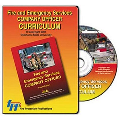 IFSTA Fire & Emergency Services Company Officer Curriculum CD-ROM, 4th Edition
