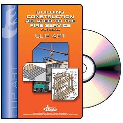 Building Construction Related to the Fire Service Clip Art CD-ROM