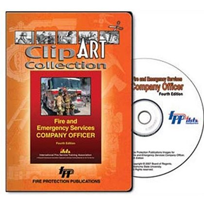 Fire and Emergency Services Company Officer Clip Art Collection