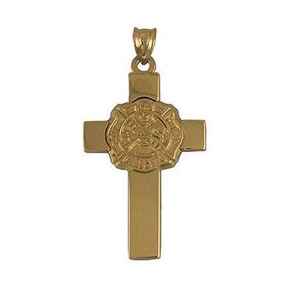 Cross with Maltese Cross Charm