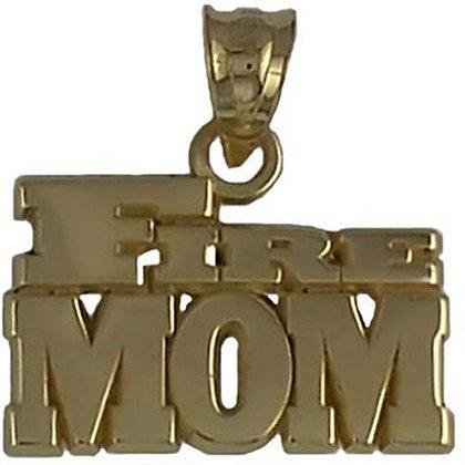 Fire Mom Charm