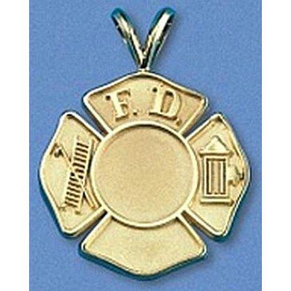 Maltese Cross 14K Gold Charm