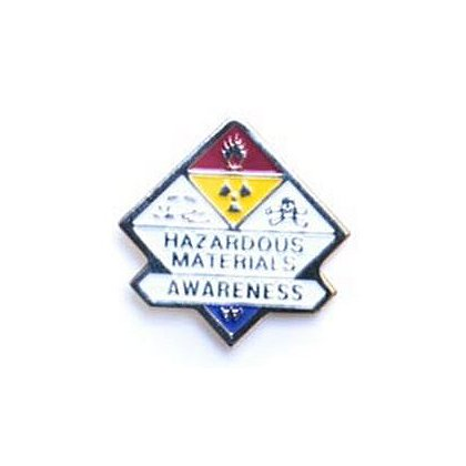 Haz Mat Awareness Pin