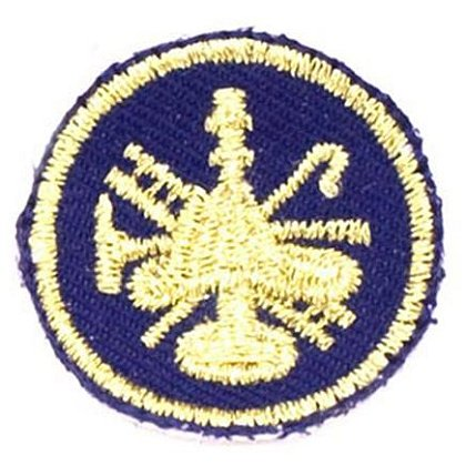 Fire Scramble Rank Patches