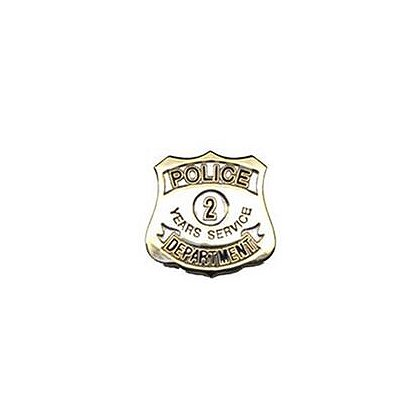 Police Department 2 Years Of Service Pin