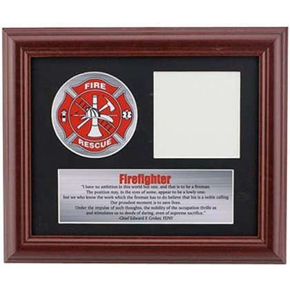 Firefighter Tribute Picture Frame