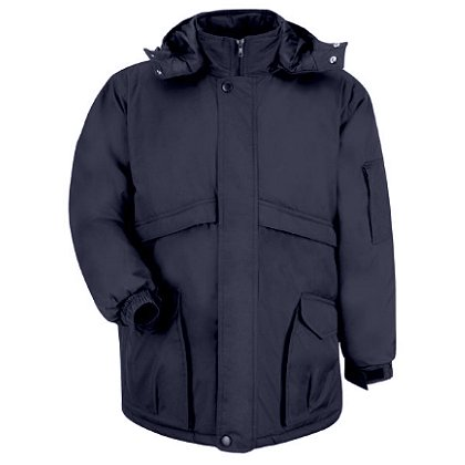 Red Kap Men's Heavyweight Hooded Parka