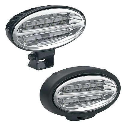 J.W. Speaker Model 660 LED Work Lamp, 12/24V White, 7