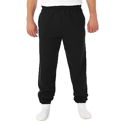 Jerzees Super Sweats Pocketed Sweatpants, 50/50 Poly/Cotton Blend