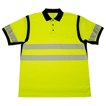 Elbeco Ufx Ultra-Light Tactical Short-Sleeve Hi-Viz Polo Shirt