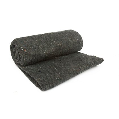 Kemp USA Grey Blanket, Wool Blend