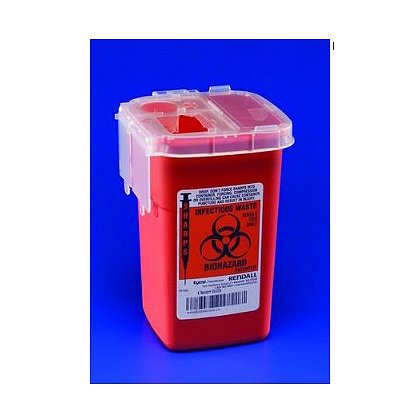 Kendall Phlebotomy Sharps Container