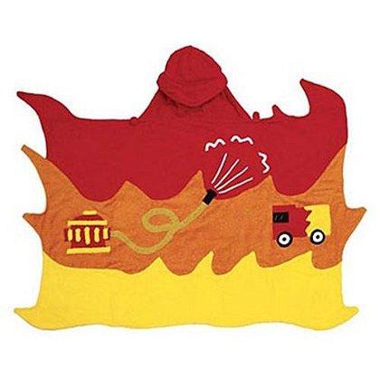 Children's Hooded Fireman Towel