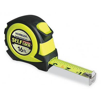Komelon Self Lock Evolution Hi-Viz Tape Measure