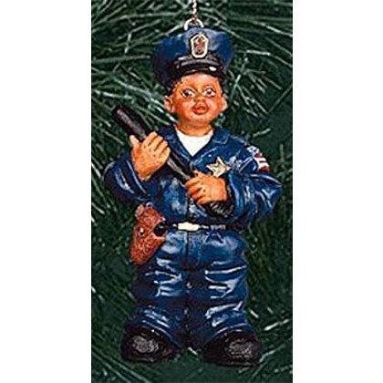 Police Boy Ornament