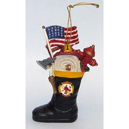 Fire Boot Ornament