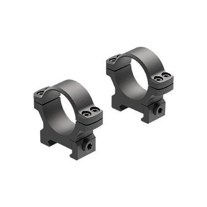 Leupold Back Country Cross-Slot 30mm Low Matte Black Rings